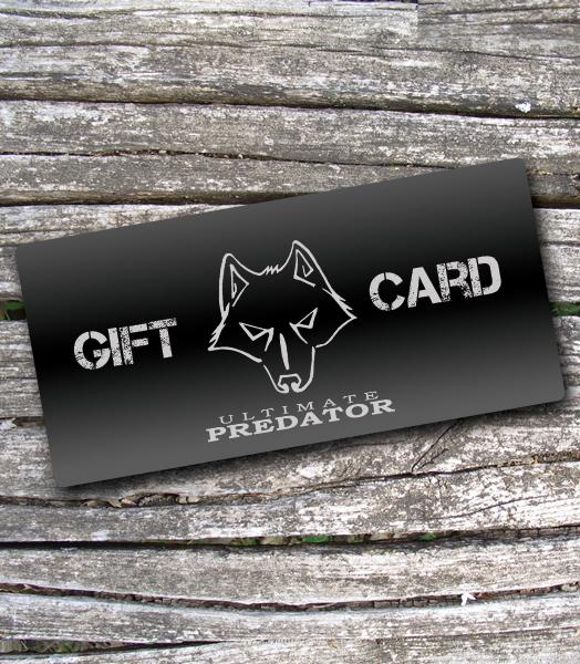 d95dc53b561c2 Ultimate Predator Gift Card - Ultimate Predator